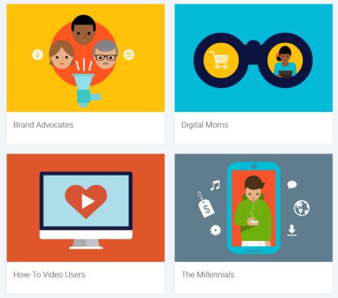 Die vier wichtigen Nutzergruppen laut Google