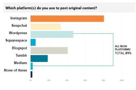 Blog sind zur Veröffentlichung von Content sehr beliebt