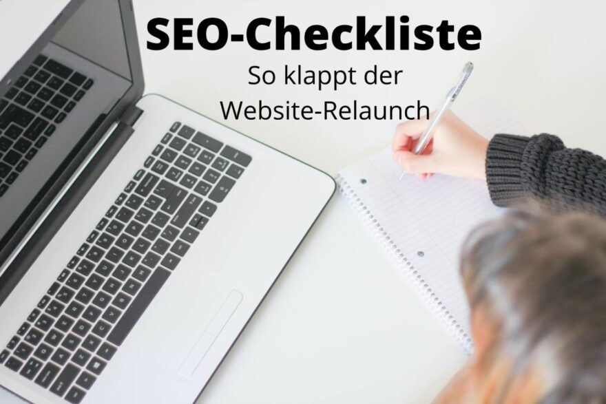 SEO Checkliste Relaunch Titelbild