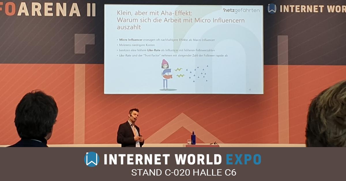 Internet World 2020 - treffen Sie die netzgefährten