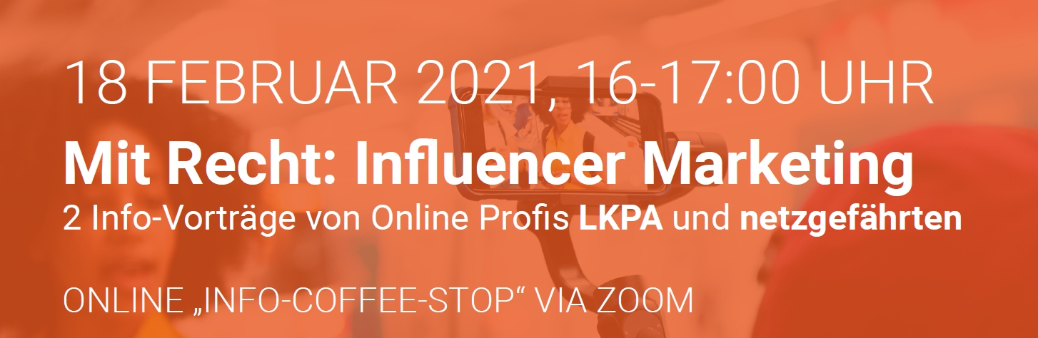 Mit Recht: Influencer Marketing